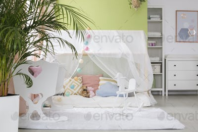 Sleeping place for baby
