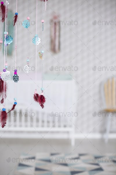 Colorful decoration in room