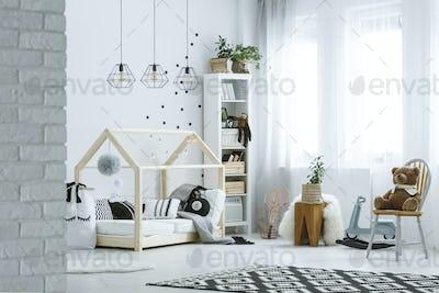 Baby room in loft