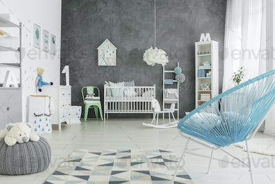 Big and light room for a child