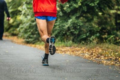 Man Feet Runner