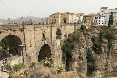 Ronda (Andalucia, Spain): the bridge