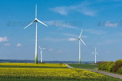 Wind energy in rural Germany