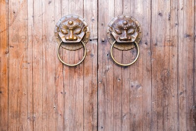 traditional chinese knocker