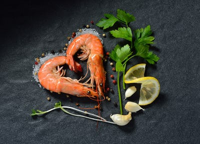 shrimps,prawns