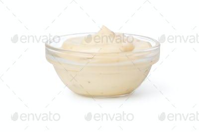 Bowl with tartar sauce