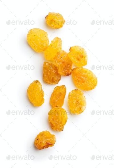 Sweet yellow raisins.