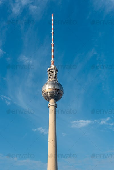 The TV Tower in Berlin, Germany