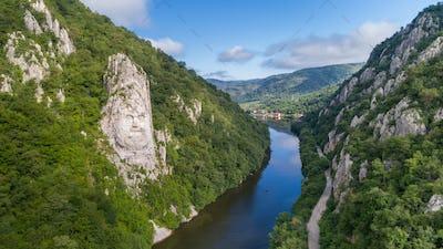 Danube Gorges (Cazanele Dunarii) , Romania