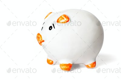 Piggy bank  isolated