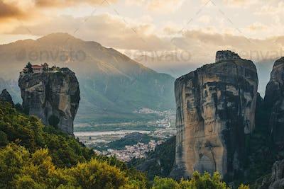 Monastery Holy Trinity, (Agia Trias) Meteora , Greece