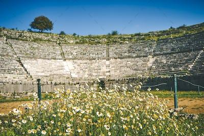 Dodoni ancient theater, Ioannina, Greece
