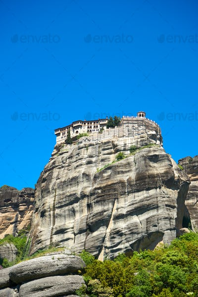Great Monastery of Varlaam on the high rock in Meteora, Thessaly
