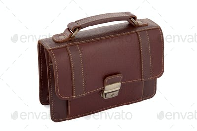 Small hand bag isolated