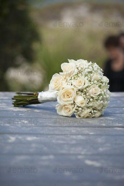 Bouquet for beach wedding