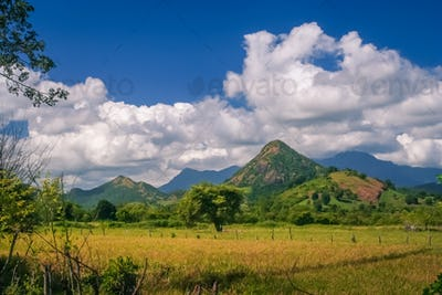Sumbava tropical landscape