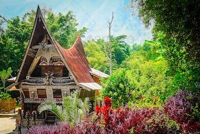 Batak House near Lake Toba