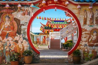 Decorations in Kek Lok Si Temple
