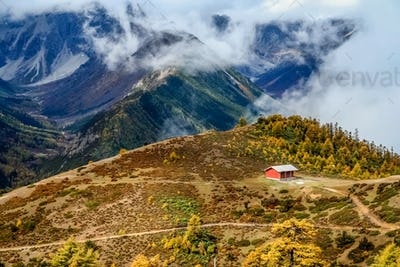 Yunnan mountains landscape