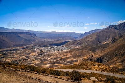 Chivas village in Canyon Colca