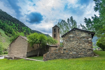 Old church in Andorra