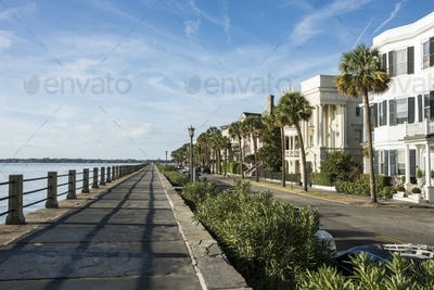 Historic waterfront in Charleston, South Carolina