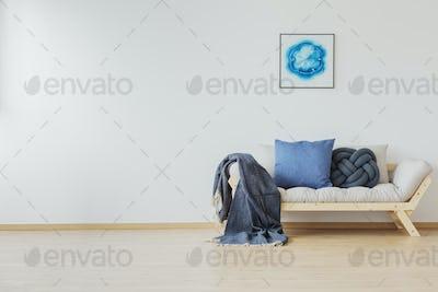 Blue home decoration