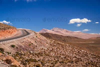 Empty road in Northern Argentina