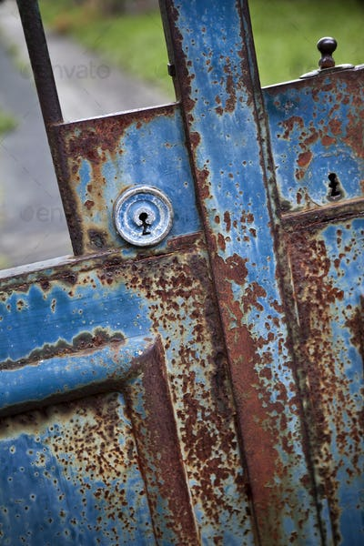 Lock of a gate
