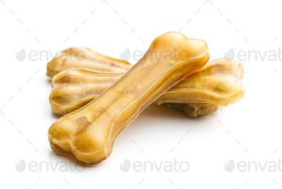 Dog chew bone.