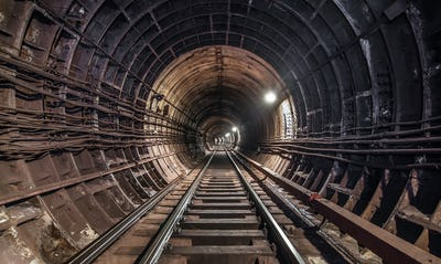 Subway tunnel