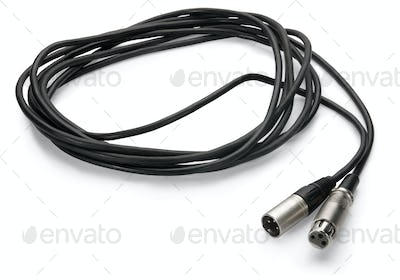 cable connectors on white background , isolated on white backgro