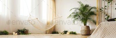 Natural design of bedroom