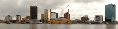Toledo Ohio Downtown City Skyline Maumee River