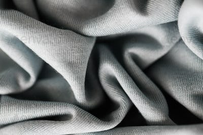 close up of gray textile or fabric background