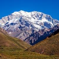 Majestic peak of Aconcagua