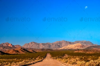 Mountain road in Argentina
