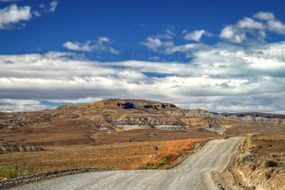 Road through Patagonia