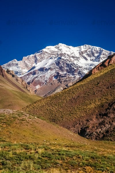 Majestic peak of Aconcagua