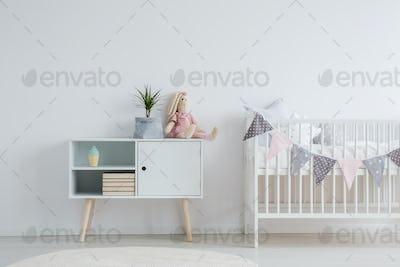 Furniture set for baby room