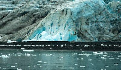 Glacier Ice Kenai Fjords Alaska United States