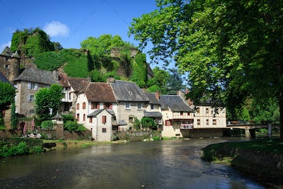 Segur village in France
