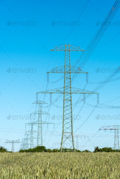 Electric transmission cables