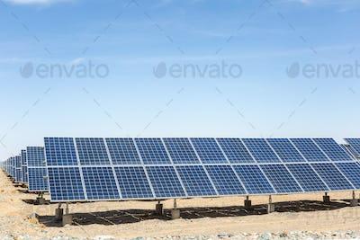 solar energy on gobi desert