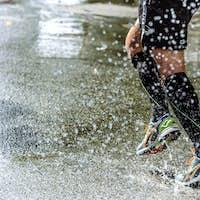 Feet Men Athletic Compression Socks