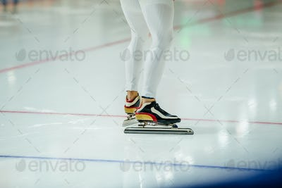 Man Speed Skater