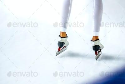 Legs Girl Athlete Speed Skaters