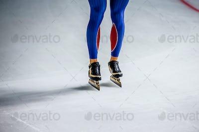 Legs Men Speed Skater