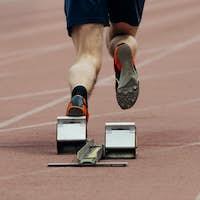 Start Man of Race Sprint