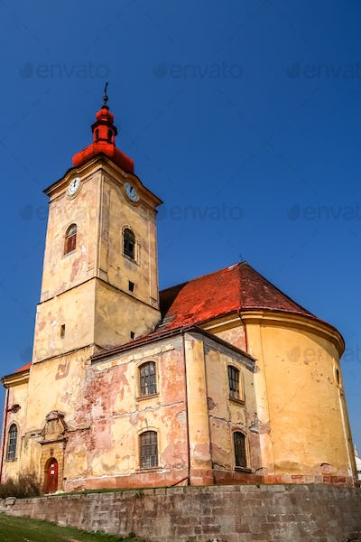 Old neglected church